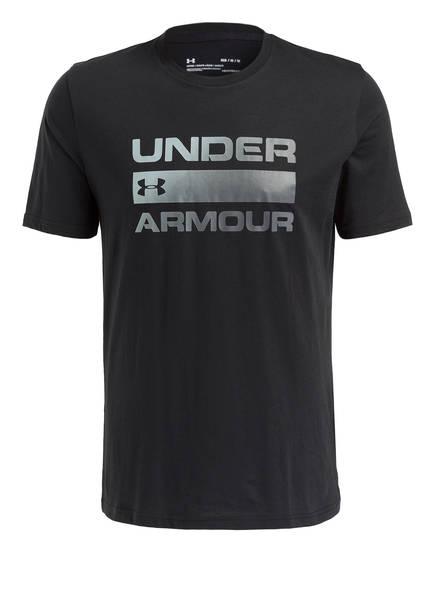 UNDER ARMOUR T-Shirt TEAM ISSUE, Farbe: SCHWARZ (Bild 1)