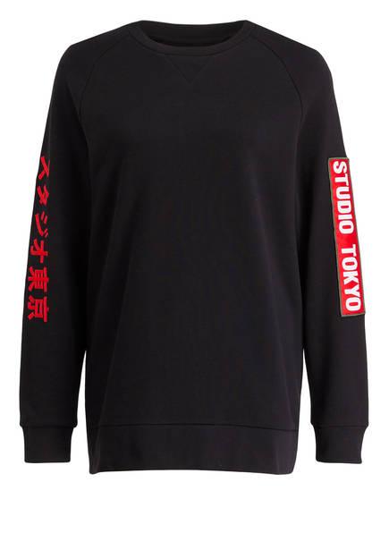ZOE KARSSEN Sweatshirt, Farbe: SCHWARZ (Bild 1)