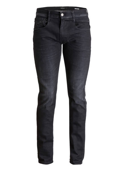 Fit Jeans Grey Slim Replay Anbass Dark 098 nPxd4