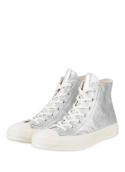 CONVERSE Hightop-Sneaker CHUCK 70 HIGH, Farbe: SILBER (Bild 1)