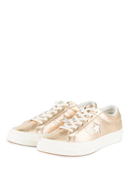 CONVERSE Sneaker ONE STAR OX LOW, Farbe: GOLD (Bild 1)