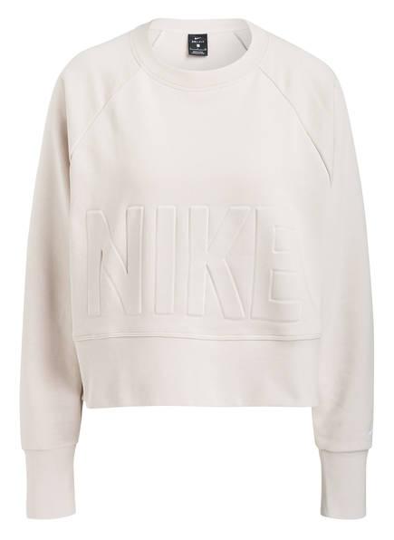 Nike Cropped-Sweatshirt VERSA CREW, Farbe: SAND (Bild 1)