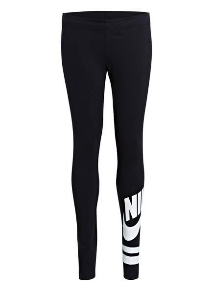 Nike Tights FAVORITE, Farbe: SCHWARZ/ WEISS (Bild 1)