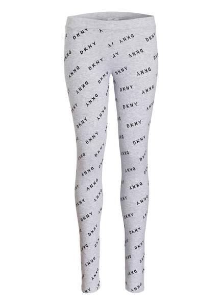 DKNY Leggings, Farbe: HELLGRAU MELIERT (Bild 1)