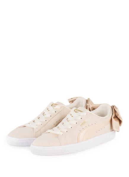 PUMA Sneaker SUEDE BOW , Farbe: BEIGE (Bild 1)