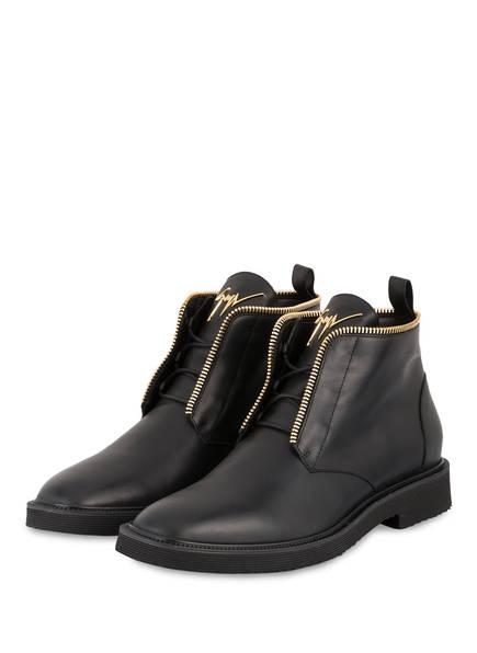 GIUSEPPE ZANOTTI DESIGN Boots SMORFIA, Farbe: SCHWARZ (Bild 1)