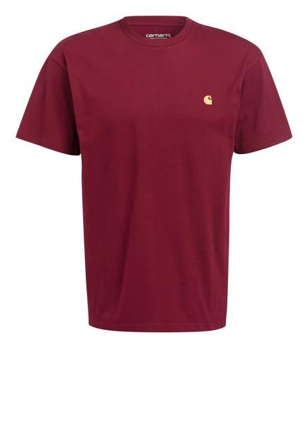 carhartt WIP T-Shirt, Farbe: DUNKELROT (Bild 1)
