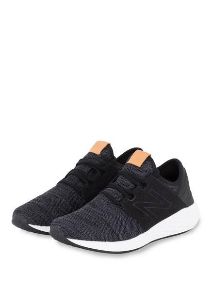 buy popular eb3bc ee83c Sneaker Cruz Balance V2 Bianco Knit New Nero g8qw4w5