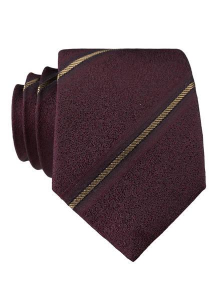 strellson Krawatte, Farbe: DUNKELROT/ GOLD (Bild 1)