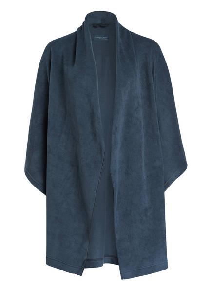 SCHIESSER Fleece-Morgenmantel, Farbe: BLAUGRAU (Bild 1)