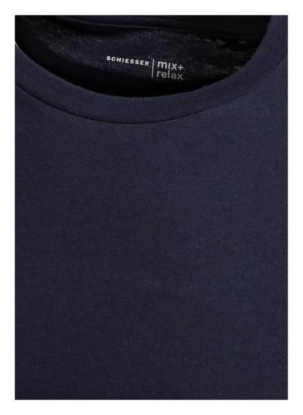 amp; Dunkelblau Sleepshirt Relax Mix Schiesser Zwg6TqExq