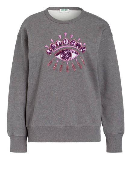 Sweatshirt Kenzo Kenzo Sweatshirt Relax Eye Eye Relax Grau wpqItxfq