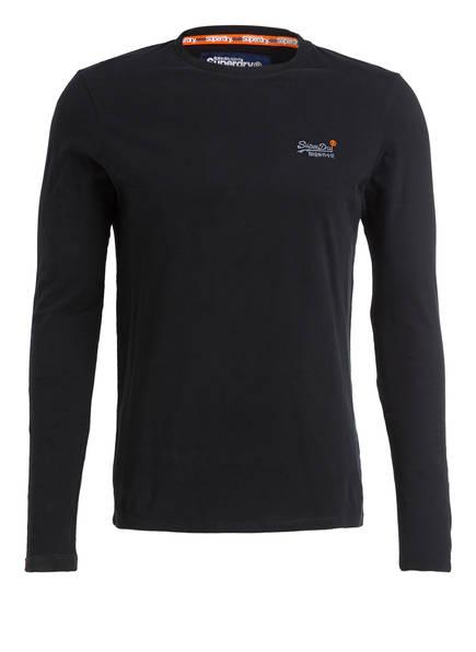 Superdry Langarmshirt, Farbe: SCHWARZ (Bild 1)