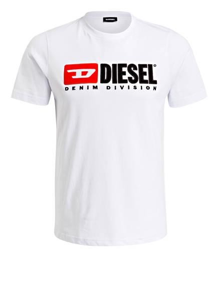 DIESEL T-Shirt JUST-DIVISION, Farbe: WEISS (Bild 1)