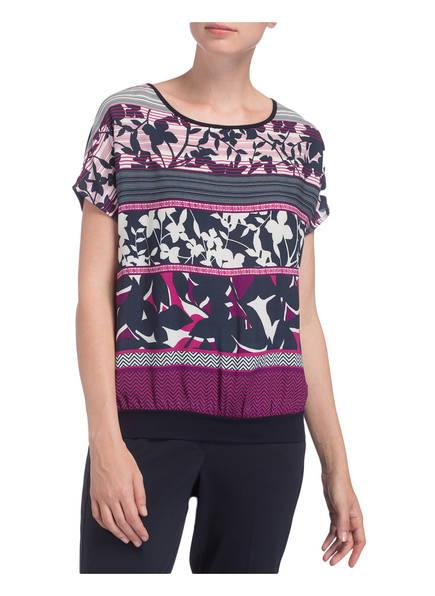 Dunkelblau Barclay T Pink shirt Weiss Betty tzqwdUq