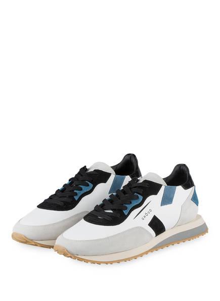 GHOUD Sneaker RUSH, Farbe: WEISS/ HELLGRAU/ SCHWARZ (Bild 1)