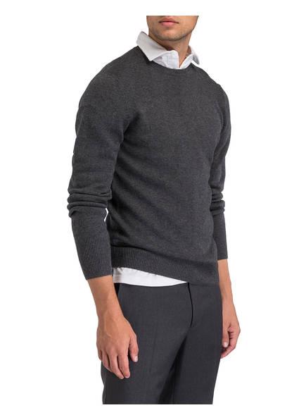 Pullover Meliert patches Aspesi Mit Ellenbogen Grau A8qfwp7w