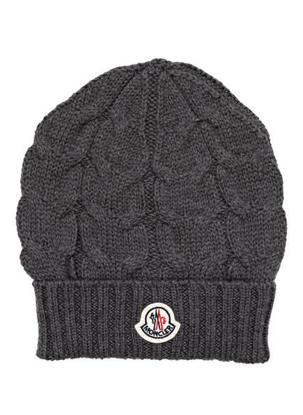 MONCLER Mütze , Farbe: GRAU (Bild 1)