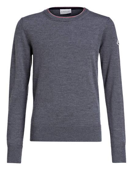 MONCLER Pullover, Farbe: GRAU MELIERT (Bild 1)