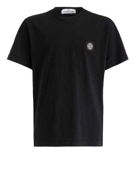 t shirt von stone island bei breuninger kaufen  stone island t shirt, farbe schwarz (bild 1)