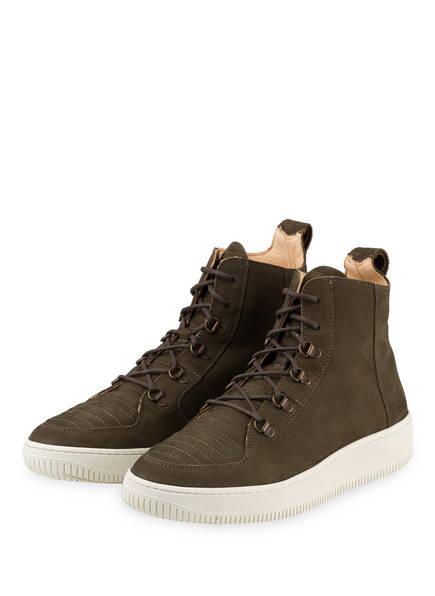 ekn Hightop-Sneaker ARGAN, Farbe: OLIV (Bild 1)