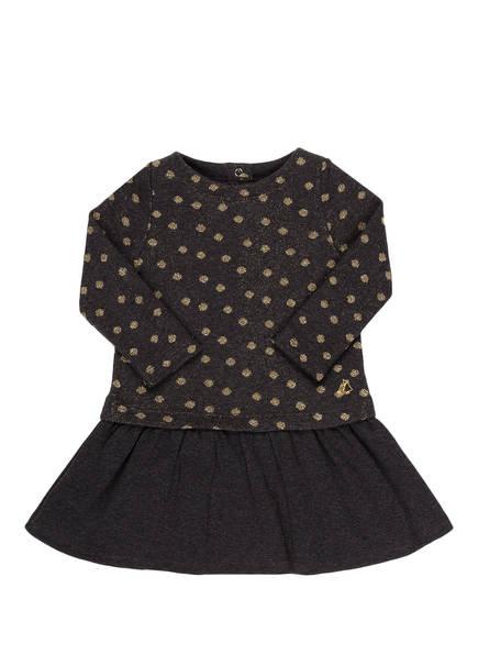 PETIT BATEAU Kleid, Farbe: DUNKELGRAU/ GOLD (Bild 1)