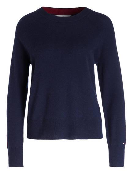 TOMMY HILFIGER Cashmere-Pullover , Farbe: DUNKELBLAU (Bild 1)