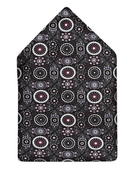 OLYMP Einstecktuch , Farbe: SCHWARZ/ DUNKELROT/ WEISS (Bild 1)