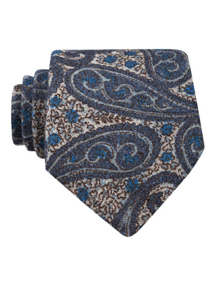 OLYMP SIGNATURE Krawatte, Farbe: GRAU/ BLAU (Bild 1)