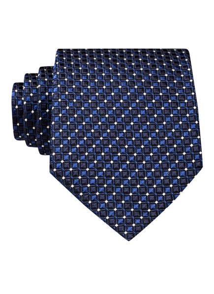 OLYMP SIGNATURE Krawatte, Farbe: BLAU/ SCHWARZ/ WEISS (Bild 1)