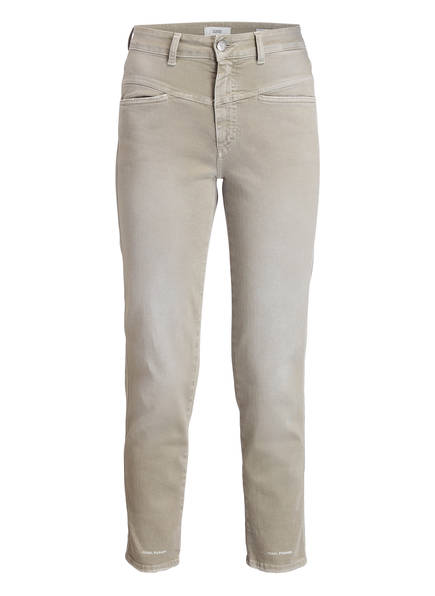 CLOSED Mom-Jeans PEDAL PUSHER, Farbe: KHAKI (Bild 1)