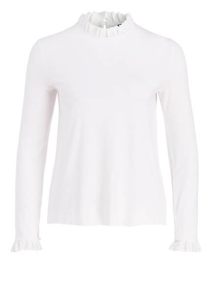 RIANI Shirt mit Rüschendetails, Farbe: OFFWHITE (Bild 1)