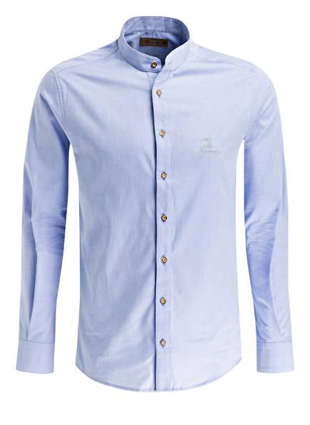 AlpenHERZ Trachtenhemd XAVER, Farbe: HELLBLAU (Bild 1)