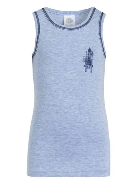 Sanetta Unterhemd, Farbe: HELLBLAU MELIERT (Bild 1)