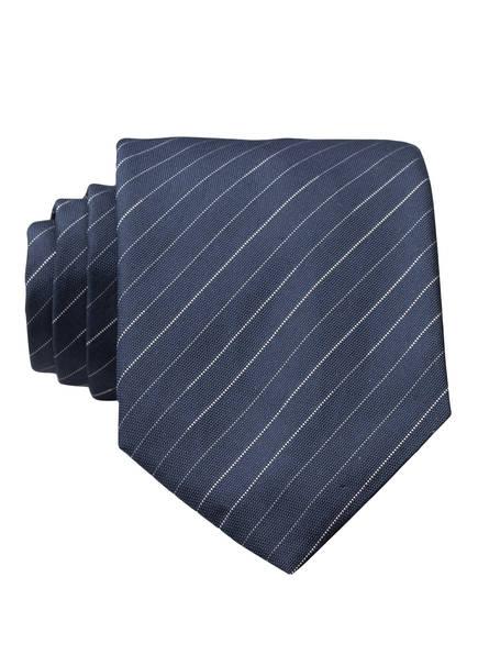 HUGO Krawatte, Farbe: BLAU/ WEISS (Bild 1)