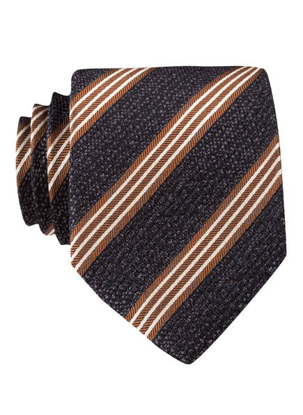 JOOP! Krawatte, Farbe: GRAU/ HELLBRAUN/ CREME (Bild 1)