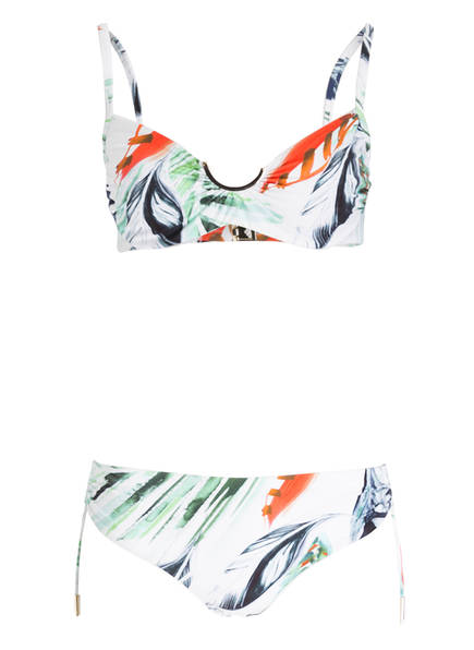 MARYAN MEHLHORN Bügel-Bikini BREEZE, Farbe: WEISS/ BLAU/ GRÜN (Bild 1)
