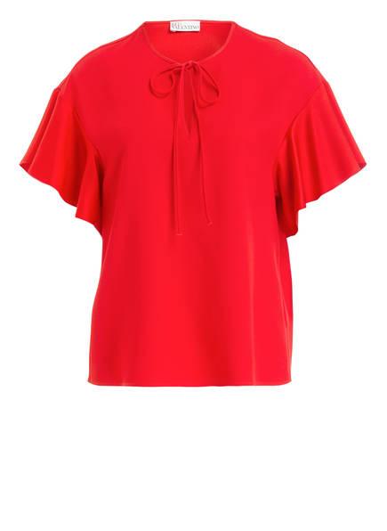 RED VALENTINO Blusentop, Farbe: ROT (Bild 1)