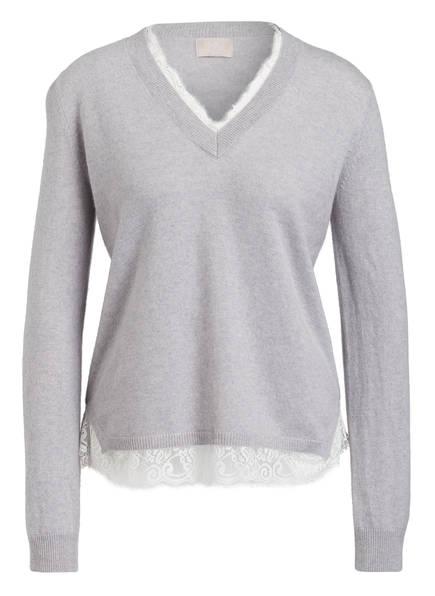 Mrs & HUGS Cashmere-Pullover, Farbe: HELLGRAU (Bild 1)