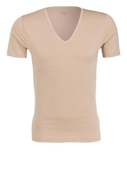 mey Bodyshape-V-Shirt, Farbe: BEIGE (Bild 1)