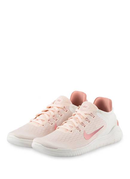 Nike Laufschuhe FREE RN 2018 , Farbe: BEIGE/ HELLROSA (Bild 1)