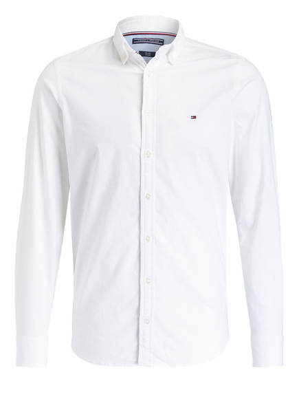 TOMMY HILFIGER Oxfordhemd Slim Fit, Farbe: WEISS (Bild 1)