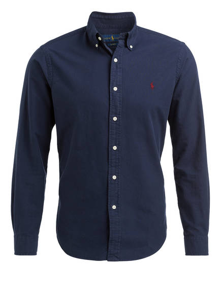 POLO RALPH LAUREN Oxfordhemd Slim Fit, Farbe: NAVY (Bild 1)