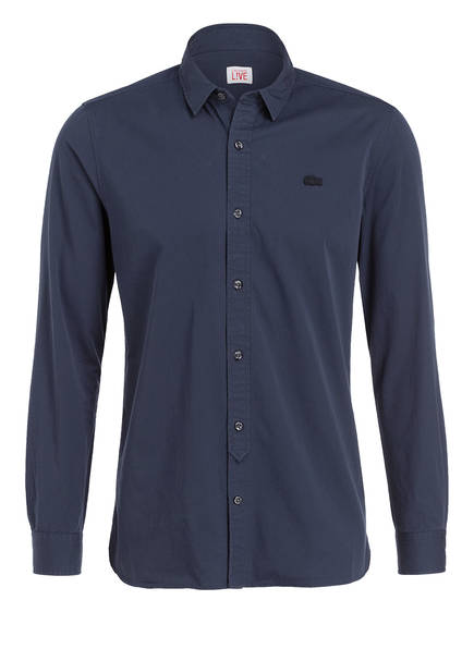 LACOSTE L!VE Hemd Regular Fit, Farbe: NAVY (Bild 1)
