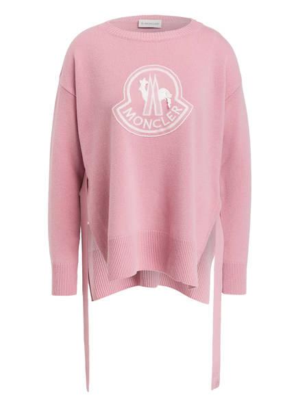 MONCLER Pullover mit Cashmere-Anteil, Farbe: ROSA (Bild 1)