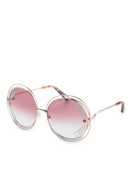 Chloé Sonnenbrille POPPY, Farbe: 835 - GOLD/ BURGUND VERLAUF (Bild 1)