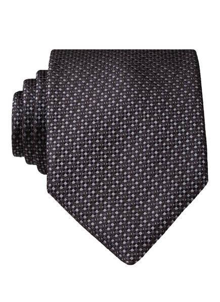 BOSS Krawatte, Farbe: DUNKELGRAU/ GRAU (Bild 1)
