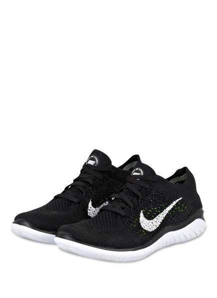 Nike Laufschuhe FREE RN FLYKNIT, Farbe: SCHWARZ (Bild 1)