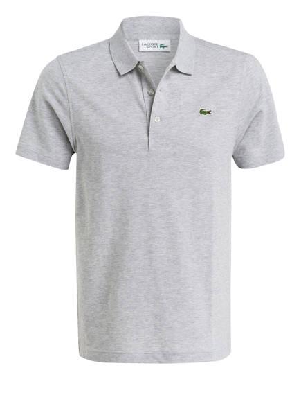 LACOSTE Piqué-Poloshirt, Farbe: HELLGRAU MELIERT (Bild 1)