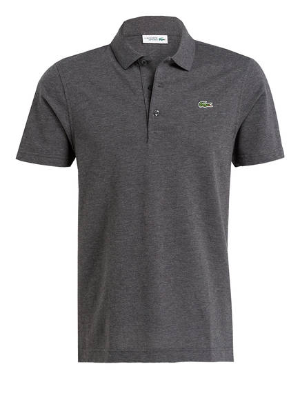 LACOSTE Piqué-Poloshirt, Farbe: ANTHRAZIT MELIERT (Bild 1)